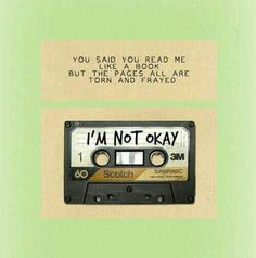 I'm Not Okay - My Chemical Romance
