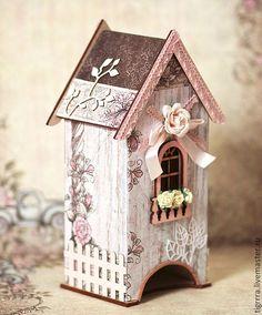 """Кухня ручной работы. Ярмарка Мастеров - ручная работа Чайный домик """"Шебби"""". Handmade."""