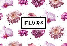FLVR'S 2014 / Visual Identity by Agata Fotymska, via Behance