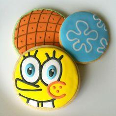 spongebob cookies by allieroom, via Flickr