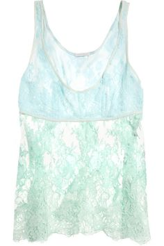 Rosamosario T-Amo lace camisole