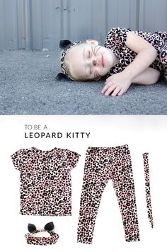 why be a cat, when you can be a LEOPARD kitty cat??! Easy costume tutorial on MADE Everyday with Dana Willard