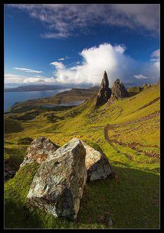 Jurrasic View - Isle of Skye, Highland- Old Man of Storr
