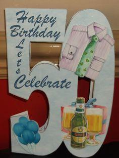 50th Birthday card September 2014