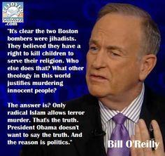 Bill O'Reilly: BostonBombers