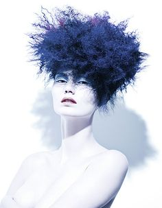 Flounce Hair: Damien Carney www.damiencarney.com Photography: Hama Sanders www.hamasanders.com