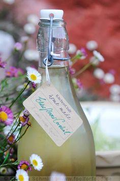 Holunderblüten-Sirup - Elderflower Cordial