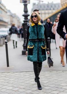 Pin for Later: Retour Sur les Meilleurs Looks Street Style de la Fashion Week de Paris Jour 4 Olivia Palermo