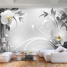 42 What You Don't Know About Large Lotus Flower Living Room Decoration Vinyl Wall Stickers - decoruntold 3d Wallpaper For Walls, Home Wallpaper, Wallpaper Wallpapers, Compound Wall Design, Tree Wall Murals, Bedroom False Ceiling Design, Condo Decorating, Bedroom Murals, Home Room Design