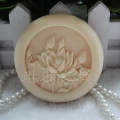 Homemade Soap Mold / Flower Soap Mold / Round Soap Mold / Wedding Soap Mold