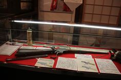 Spencer Carbine with tubular magazine, used by samurai during the late Edo period.
