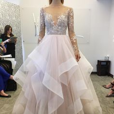 New York Bridal Fashion Week Show 2016 new collection wedding dress designer bridal gown catwalk runway