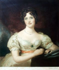 Portrait of Mary Anne Bloxham, Lawrence