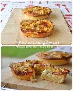 La cucina di Federica: Crostatine con asparagi e taleggio