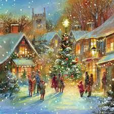 traditional christmas scene - Google Search