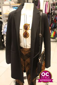 A sophisticated change from your average 9 to 5 outfit - Oshawa Centre Style Approved by Life Runway - Find it at Le Chateau Real Life, Centre, Runway, Gucci, Change, Shoulder Bag, Outfits, Beauty, Style