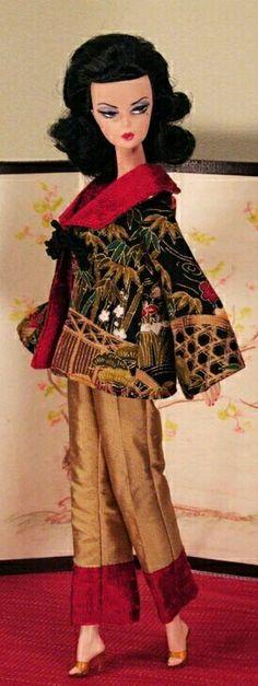 Silkstone BArbie doll