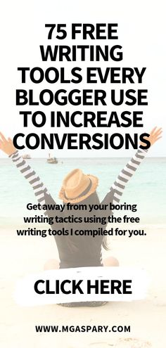 Find out the 75 free writing tools to help writers to optimize their content. Blog Writing, Writing Tips, How To Start A Blog, How To Make Money, Affiliate Marketing, Seo Marketing, Digital Marketing, Blogging For Beginners, Blogging Ideas