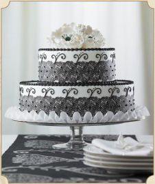 Edible Black lace cake ribbon! $9.99
