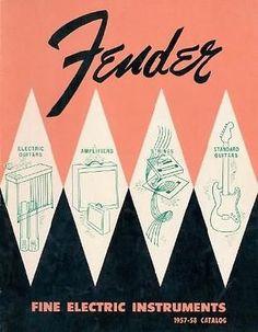 1957- 58 Fender Catalog