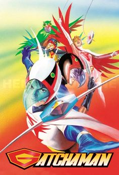 Science Ninja Team Gatchaman / Battle of the Planets