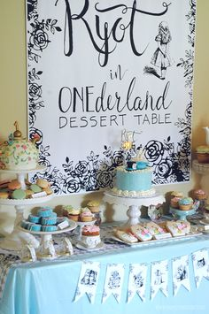 STYLING | Alice in ONEderland First Birthday Party