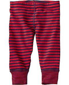 Opposite Stripe Loose Leggings by Hanna Andersson