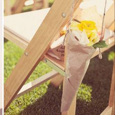 isle marker from green wedding shoes blog