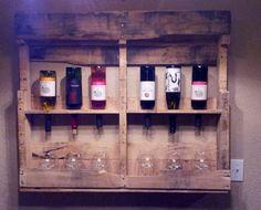 pallet wine rack sarah_pregel. nice