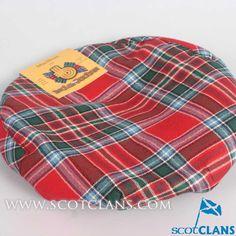 MacBean Tartan Cap