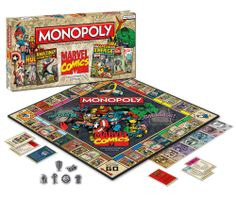 Marvel Comic Books Brettspiel Monopoly 1st Edition Covers *Englische Version   - Marvel Monopoly Brettspiel - Anzahl Spieler: ab 2-8 - Alter...