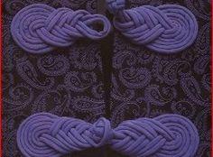 застежка для одежды из шнура - Шитье