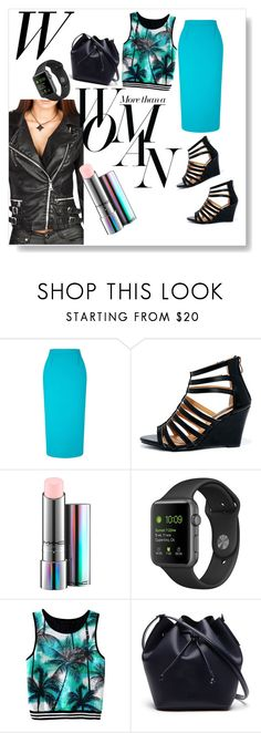 """Today's look"" by trisens on Polyvore featuring Mode, Roland Mouret, DbDk, MAC Cosmetics, Lacoste und Sarah Jessica Parker"