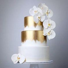 ТОРТЫ НА ЗАКАЗ : Свадебный торт «Орхидея в снегу»
