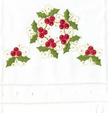 Image result for hand embroidery christmas designs
