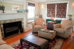 Living and Family Room by Amy Dutton Home