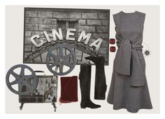 """Cinema"" by winkiefingers ❤ liked on Polyvore featuring Pottery Barn, Zara, Lauren Ralph Lauren, BP. and Christina Debs"