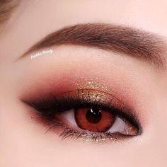 Eye Makeup Tips – How To Apply Eyeliner – Makeup Design Ideas Eye Makeup Blue, Korean Makeup Tips, Asian Eye Makeup, Korean Makeup Tutorials, Eye Makeup Tips, Makeup Inspo, Makeup Inspiration, Beauty Makeup, Hair Makeup