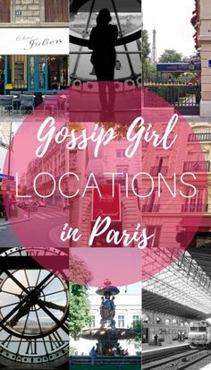 Gossip Girl Filming Locations in Paris, France