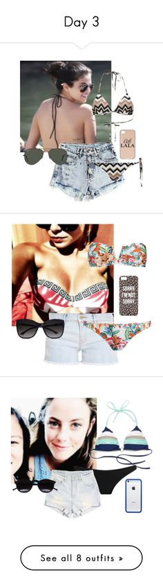 """""""Day 3"""" by jullinhagalioti on Polyvore featuring moda, Ray-Ban, dELiA*s, Frame Denim, We Are Handsome, GUESS by Marciano, With Love From CA, Sperry Top-Sider, Prism e Somedays Lovin"""