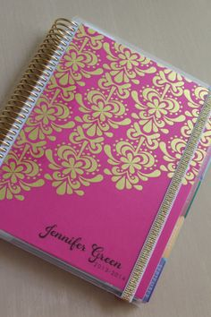 shiny and new, my erin condren life planner review