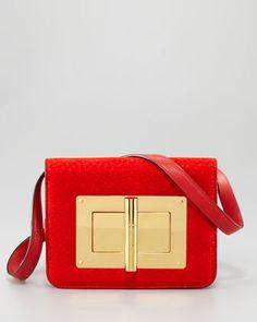 Lust!     Medium Peccary Natalia Bag by Tom Ford at Neiman Marcus.