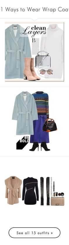 """""""11 Ways to Wear Wrap Coats"""" by polyvore-editorial ❤ liked on Polyvore featuring waystowear, wrapcoat, Acne Studios, DKNY, Topshop, Linda Farrow, polyvoreeditorial, fallfashion, fallstyle and J.Crew"""