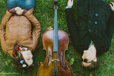 music lovers couple {with cello}