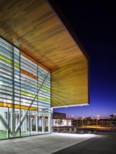 Glazing/ext. Materials:Brampton Soccer Centre / MacLennan Jaunkalns Miller Architects