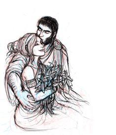 Hades  Persephone by asphodelon, I love this artist's interpretation of them!!!