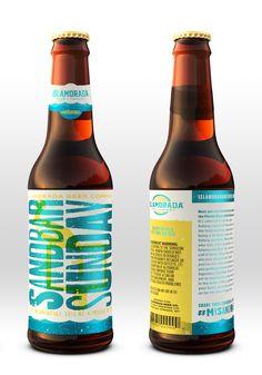 Islamorada Beer Company — The Dieline - Package Design Resource Food Packaging Design, Beverage Packaging, Bottle Packaging, Brand Packaging, Coffee Packaging, Beer Factory, Beer Label Design, Beer Company, Beer Brands