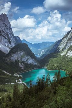 Hinterer Gosausee by Michael Hacker