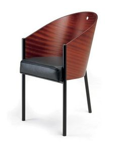 Comfortable and handsome, the Costes armchair was designed by Philippe Starck for the Costes Cafe in Paris.