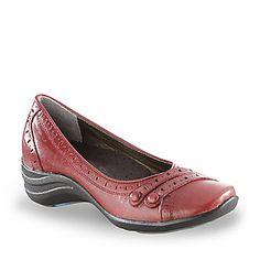 Hush Puppies Women's Burlesque Ballerina Shoes (FootSmart.com)